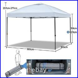10'x10' Ez Outdoor Pop Up Canopy Party Commercial Folding Tent Shelter Gazebo