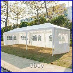 10'x30' Party Tent Wedding Commercial Gazebo Marquee Canopy With5 Side Wall Awings