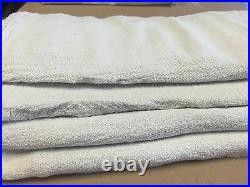 1000 Pcs New Industrial Commercial Standard White Shop Cleaning Towel Rags