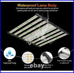 1000W Foldable Pro LED 8Bar Commercial Medical Grow Lights Fluence SPYDR Gavita