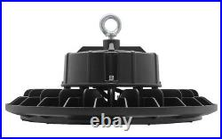 100W 150W LED High Bay Light UFO Style IP65 Commercial Warehouse Lighting