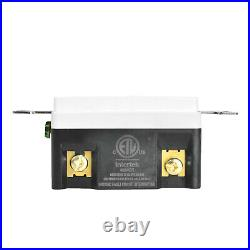 10PK 20AMP GFCI GFI Safety Outlet Receptacle with Wall Plate LED Indicator TR WR