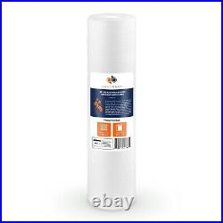 10PK of Big Blue 1 Micron 20 x 4.5 Sediment Water Filter Cartridge by Aquaboon