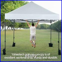 10x10' Commercial Pop UP Canopy Party Tent Folding Waterproof Gazebo Outdoor
