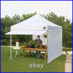 10x10 Pop Up Canopy Outdoor Instant Party Tent Commercial Gazebo With4 Side Walls