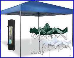 10x10ft Commercial Pop up Gazebo Canopy Garden Party Outdoor Patio Folding Tent