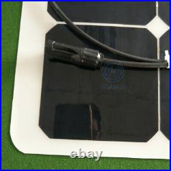 120 W Solar Panel, Semi flexible with SUNPOWER CELLS solar panel ETFE cover