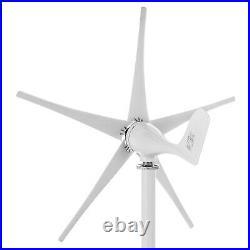1200W Max Power 5 Blades DC 12V Wind Turbine Generator Kit W Charge Controller