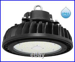 150W LED High Bay Light UFO Style IP65 Outdoor Commercial Warehouse Lighting