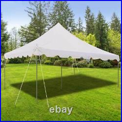 15x15 Pole Tent Weekender Event Party Canopy Waterproof 14 Oz Commercial Vinyl