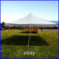 20x30 Pole Tent Weekender Event Party Canopy Waterproof 14 Oz Commercial Vinyl