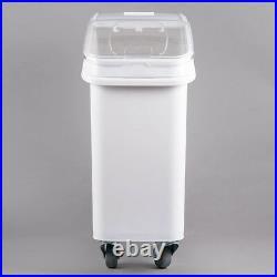3 PACK Dry Ingredient 21 Gallon Storage Bin Caster Commercial Restaurant Kitchen