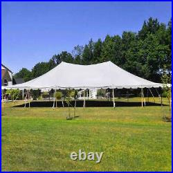 30x60' Premium Pole Tent Wedding Event Canopy Waterproof Commercial Marquee