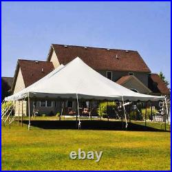 30x80 Premium Pole Tent Wedding Event Canopy Waterproof Commercial Marquee