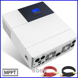 3500W 48V All-In-One Solar Charger Inverter 110V AC Built-In 80A Mppt Controller