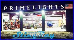 4 Lamp T8 LED High Bay 88Watt Warehouse, Shop, BRIGHT, Commercial Light NEW