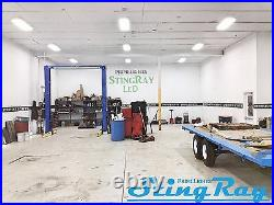 4 Lamp T8 LED HighBay Warehouse, Shop, Garage BRIGHT Commercial Light NEW