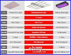 400W Full Spectrum White Commercial LED Grow Light Replace Fluence spydr /Gavita