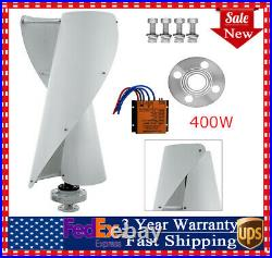 400W Helix maglev Axis Vertical Wind Turbine Wind Generator Windmill+Controller