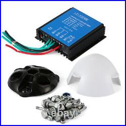 400W Max Power 3 Blades DC 24V Wind Turbine Generator Kit With Charge Controller
