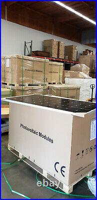 400w x27 (10800 watts) Solar Panels (27=1pallet) Mono, PERC, white, Half Cell