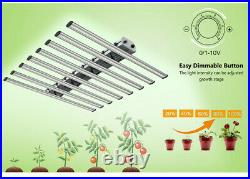 480W Full Spectrum Horticulture Commercial LED Grow Light Replace CMH/Fluence UL