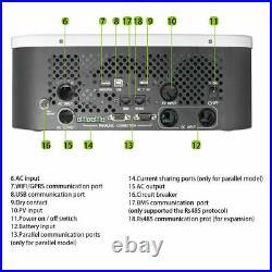 48V 3000W 120/240V Solar Inverter Growatt SPF LVM 4KW-80A MPPT FREE SHIPPING