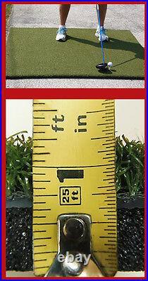 5'x5' Duffer Commercial Golf Mat 1.25 thick made 4 golf no cheap white foam