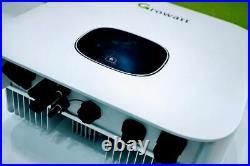 5kW 120/240V Grid-Tie Inverter by Growatt UL Listed DIY 5000W NEW + Monitoring