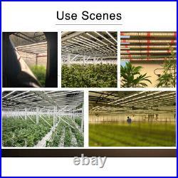 640W Full Spectrum White Fold LED Grow Light Replace Fluence SPYDR Gavita 1600E
