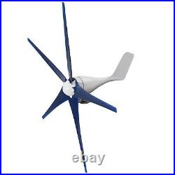 8000W Max Power 5 Blades Wind Turbine Generator Kit with DC 12V Charge Controller