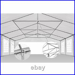 AMERICAN PHOENIX 20x20 Canopy Tent Pop Up Portable Instant Commercial Heavy Duty