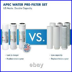 APEC 6 Stage 90 GPD Alkaline High Flow Certified Reverse Osmosis System RO-PH90