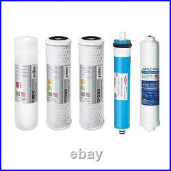 APEC US MADE 90 GPD Complete Replacement Water Filter For RO System FILTER-MAX90