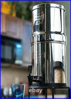 Big Berkey Water Filter System with 2 Black Berkey Filters