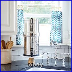 Big Berkey Water System With Black Filters and/or Fluoride Filters (2.5 Gal)