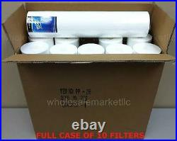 Bluonics Sediment Replacement Water Filters 10 (5 Micron) 4.5 x 20 Cartridges