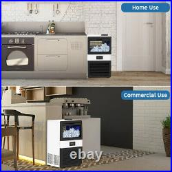 Built-in Commercial Ice Maker Undercounter Freestand Ice Cube Machine