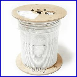 CommScope COMMERCIAL FIRE RETARDED CMP WHITE Plenum RG6 Coax Cable 1000ft RG6