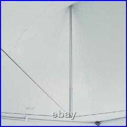 Commercial 20' x 20' High Peak Tent Event Party Canopy Waterproof Vinyl Gazebo