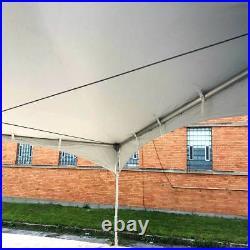 Commercial 20' x 30' High Peak Tent Wedding Event Vinyl Canopy Waterproof Gazebo