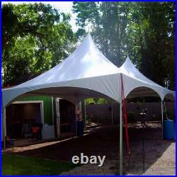 Commercial 20' x 40' High Peak Tent Event Party Canopy Waterproof Vinyl Gazebo