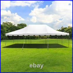 Commercial 20x30' Economy Pole Tent Wedding Event Party Canopy Waterproof Top