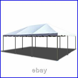 Commercial 20x30' Frame Tent White Vinyl Weekender West Coast Event Party Canopy