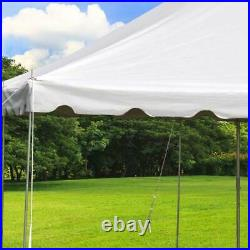 Commercial 20x40' Economy Pole Tent Wedding Event Party Canopy Waterproof Top