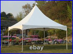 Commercial High Peak Marquee Tent 10x10/10x13/12x12 lasting use Canopy White