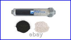 CounterTop/Portable RO Reverse Osmosis Water Filter 5 Stage 75 GPD + Alkaline