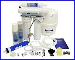 Domestic Undersink 4 Stage Reverse Osmosis System Fluoride Removal Finerfilters