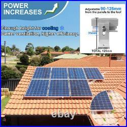 ECO Solar Panel Tilt Mount Brackets Ground Roof Mounting System Set Adjustable