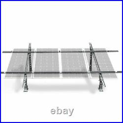 ECO Tilt Mount Brackets Complete Solar Panel Ground Solar Bracket System 4PCS